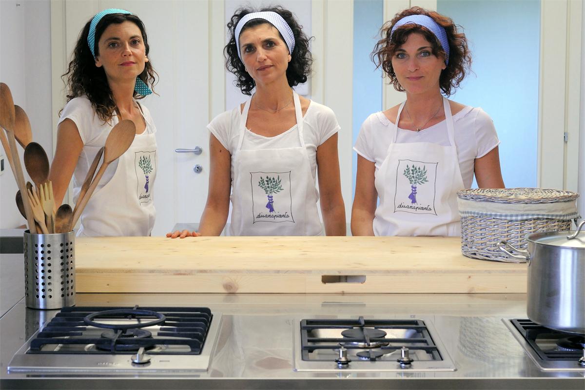 Chi siamo disanapianta for Corsi di cucina reggio emilia