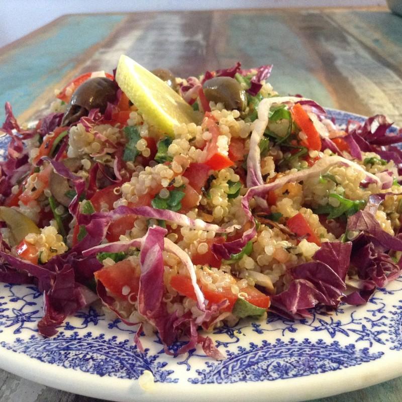 Insalata veloce di quinoa