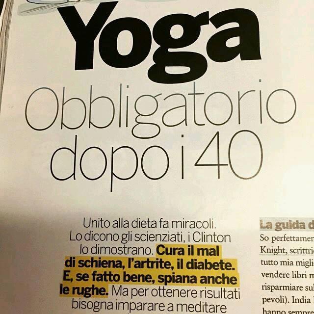 foto yoga obbligatorio