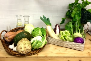Foto cesti verdura
